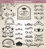 European classic lace pattern 05