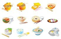 cartoon food icon