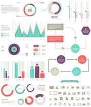 40 Plus Minimalist Info Graphics with Icons
