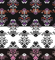Decorative Floral Free Photoshop and Illustrator Patterns