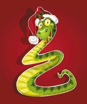 Cute cartoon snake 02