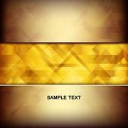 Abstract Golden Linen Texture Insert Between Background