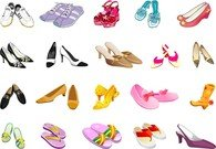 Colors Of Different Styles Of Shoes
