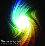 Brilliant color of the background beam vector-5