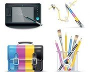 Stock Illustrations CMYK-Set