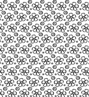 Hand drawn Summer Petal Photoshop And Illustrator Pattern