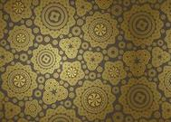 Golden Vector Pattern