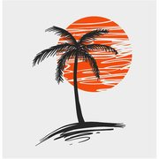 PALM TREE VECTOR STOCK GRAPHICS.eps