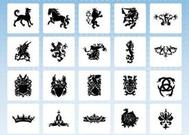 Heraldry Icon Vectors