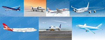 7 Vector material for civilian aircraft