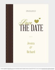 Free Vector Wedding Invitation