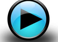 Black Media Player Windows 7 Play Button
