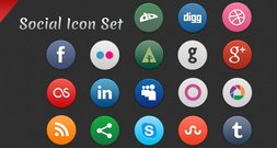 Social Icon Set Icon Social Icon Set Social Media Icons