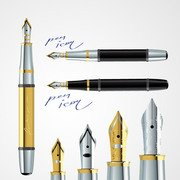 Fountain Ink Nib Pen