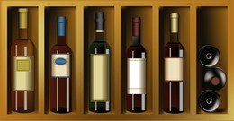 Wine Bottles Bottles Paste Wine And Vintage Wine Posters