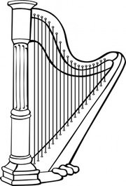 free harp clipart and vector graphics clipart me rh clipart me harp clip art free harp clip art free
