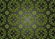 Green Floral Texture