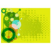GREEN ABSTRACT STOCK VECTOR BACKGROUND.ai