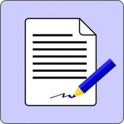 Sign Document Contract Icon
