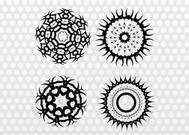 Round Tribal Graphics