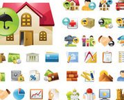 Immobilier Icon Set