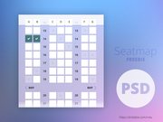 Seatmap - Freebie