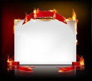 Flame Burning Paper Effect 04