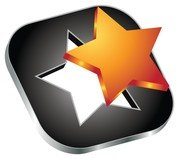 3d star vector icon