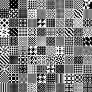 Monochrome Geometric