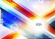Colorful Glowing Background with Dynamic Lines