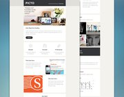 Picto Email PSD Theme