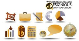 Free Vector Icons Set 2