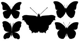 Butterfly Silhouettes Free
