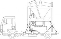 Truck And Sandmixer