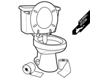 Free Vector Cleaner Silhouettes Toilet