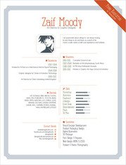 Graphic Artist Pro Resume Template