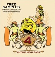 Vintage Mega Pack 4 free samples