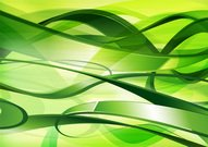 Abstract green tangled background