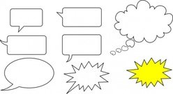 Svg Speech Bubbles