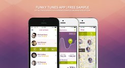 Funky Tunes Mobile Kit - Submitted by Olga Ionel