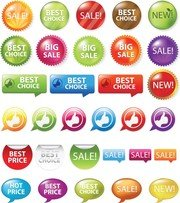 Sale Shopping Tags And Signs