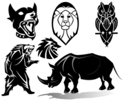 Free Animals Vector Clip Art Images