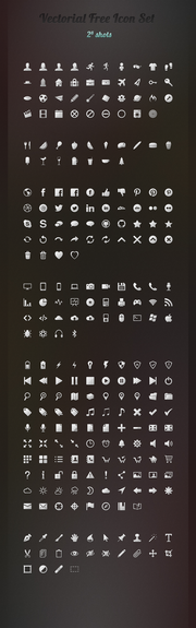 250 Free Vector Icons