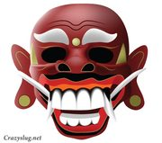 Traditional Balinese Mask Free