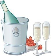 Champagne for celebration vector 8