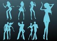 Dancing Girls And Couples