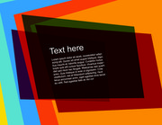 Multicolor Flashy Rectangles Background