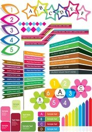 Colorful Decorative Graphics Vector 4