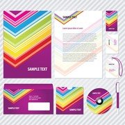 Simple Business Card Template Vector Vi And