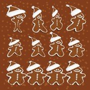 Gingerbread Man Vectors